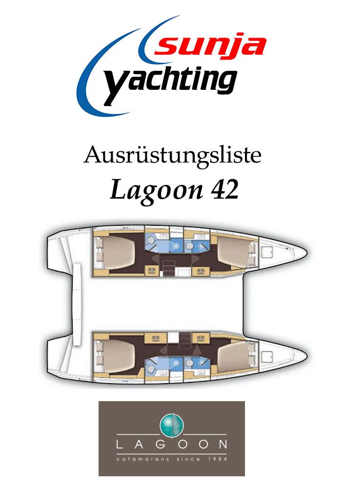 Ausrüstungsliste Lagoon 42