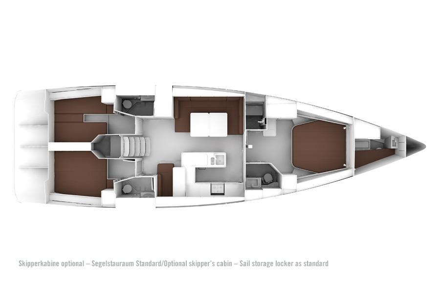 Bavaria Cruiser 56 Riss