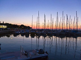 Marina Funtana Sonnenuntergang