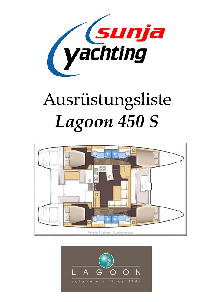 Ausrüstungsliste Lagoon 450 Sport Top