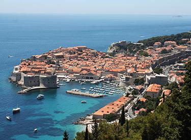 Küste von Dubrovnik