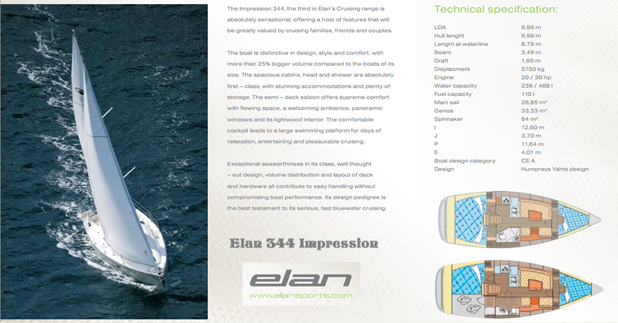 Elan 344 Impression Katalog
