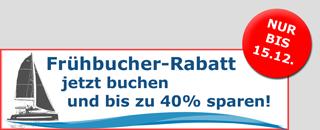 Bis zu 40% Frühbucher-Rabatt