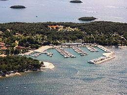 Hafen Funtana Küste
