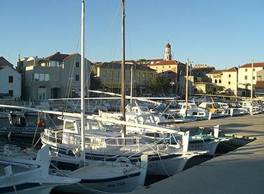 Hafen Murter Kroatien