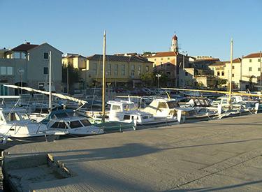 Hafen von Murter Kroatien