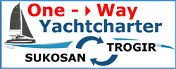 One-Way-Yachtcharter Kroatien