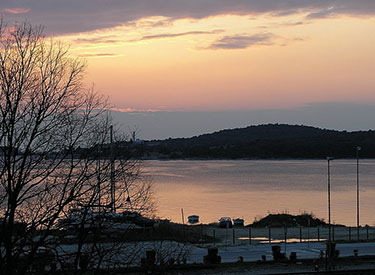 Pula Sonnenuntergang