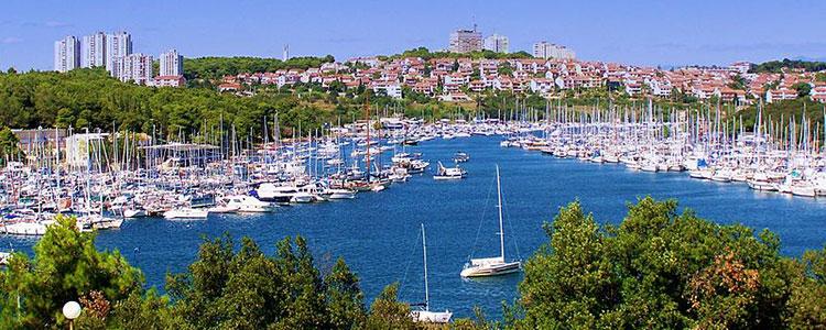 Yachthafen Pula Kroatien