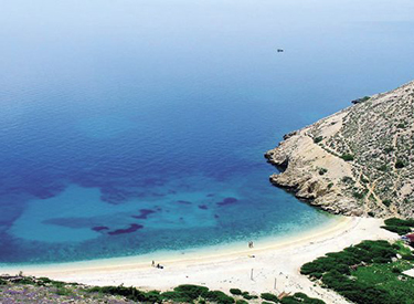 Strand Punat Kroatien