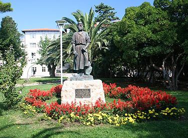 Sveti Marin Denkmal Rab Kaldanac Park
