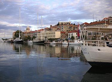Hafen Sibenik