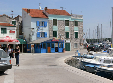 Hafenpromenade Vodice
