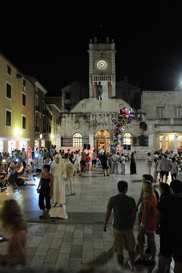 Altstadt Zadar Nachts