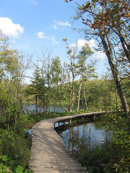 Gemütliche Orte Plitvicer Seen
