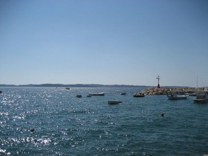 Hafeneinfahrt Nationalpark Brijuni
