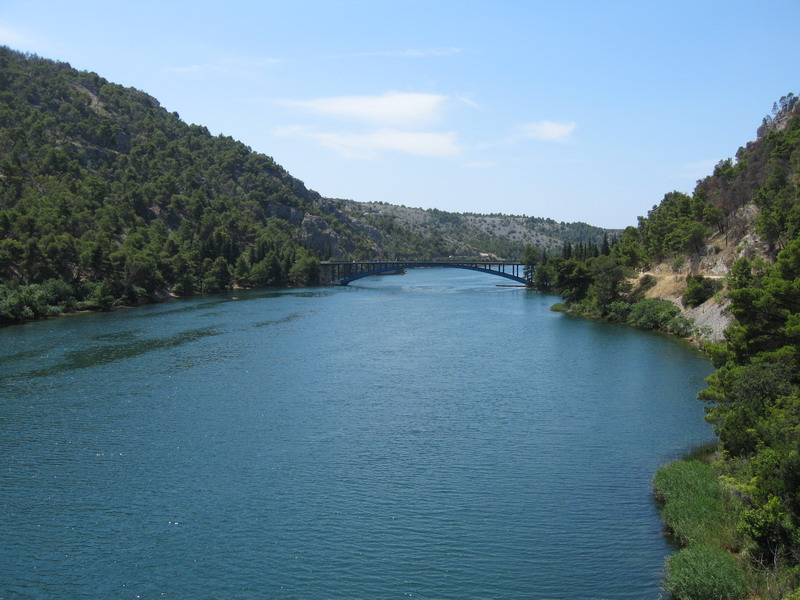 Krka Nationalpark Ausblick