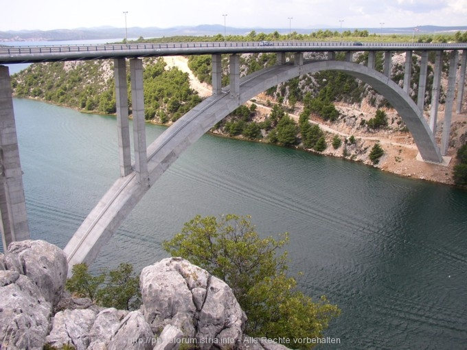 Krka Nationalpark Brücke