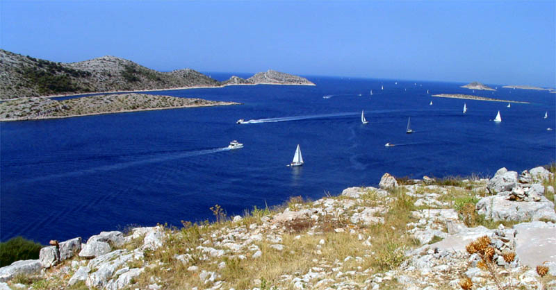 Meer vor Kornaten Kroatien