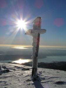 Nationalpark Paklencia Gipfelkreuz