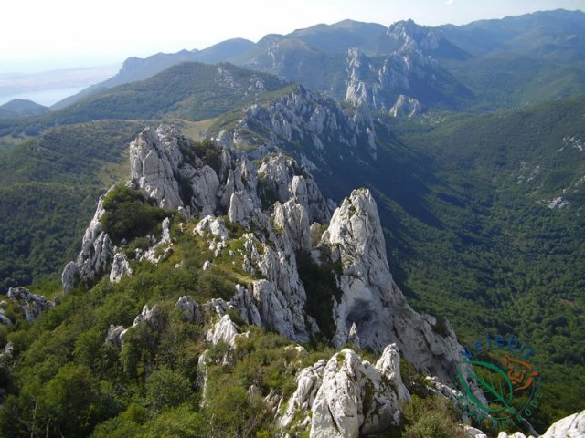Naturpark Velebit Aussicht
