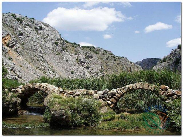 Naturpark Velebit Landschaft