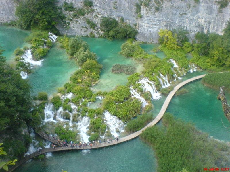Plitvicer Seen segeln kroatien 20