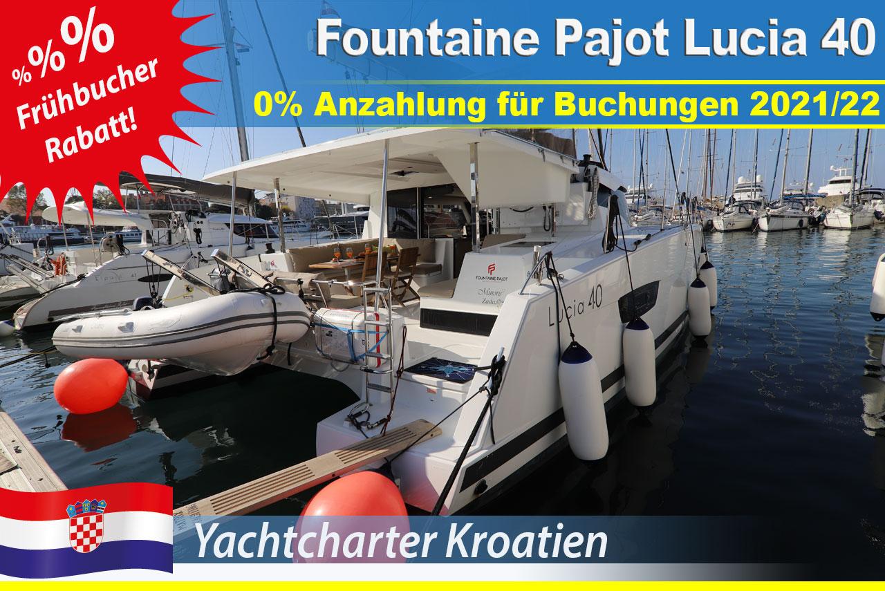 Frühbucher Fountaine Pajot Lucia 40