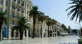 Hafenpromenade Split