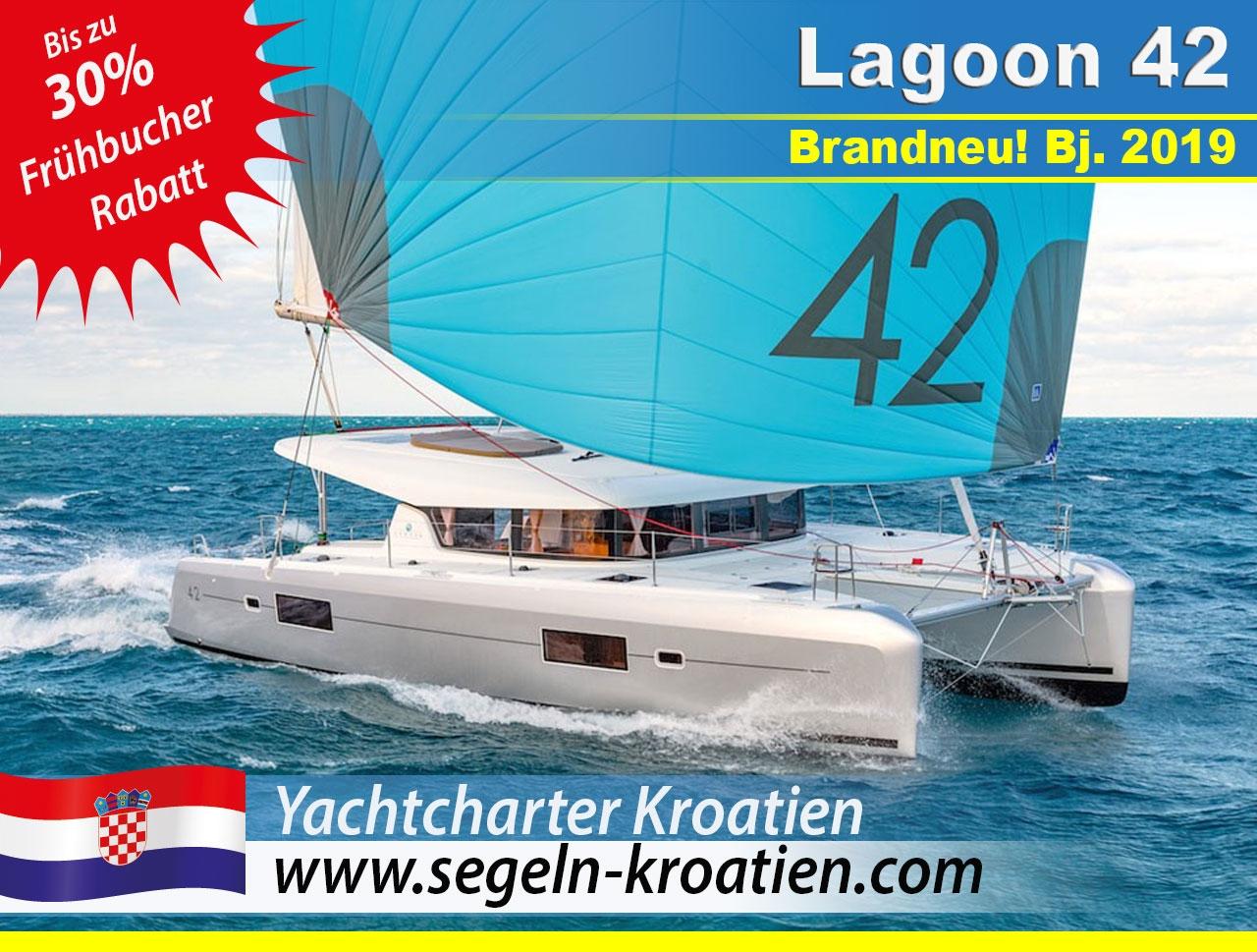 Frühbucher Yachtcharter Kroatien