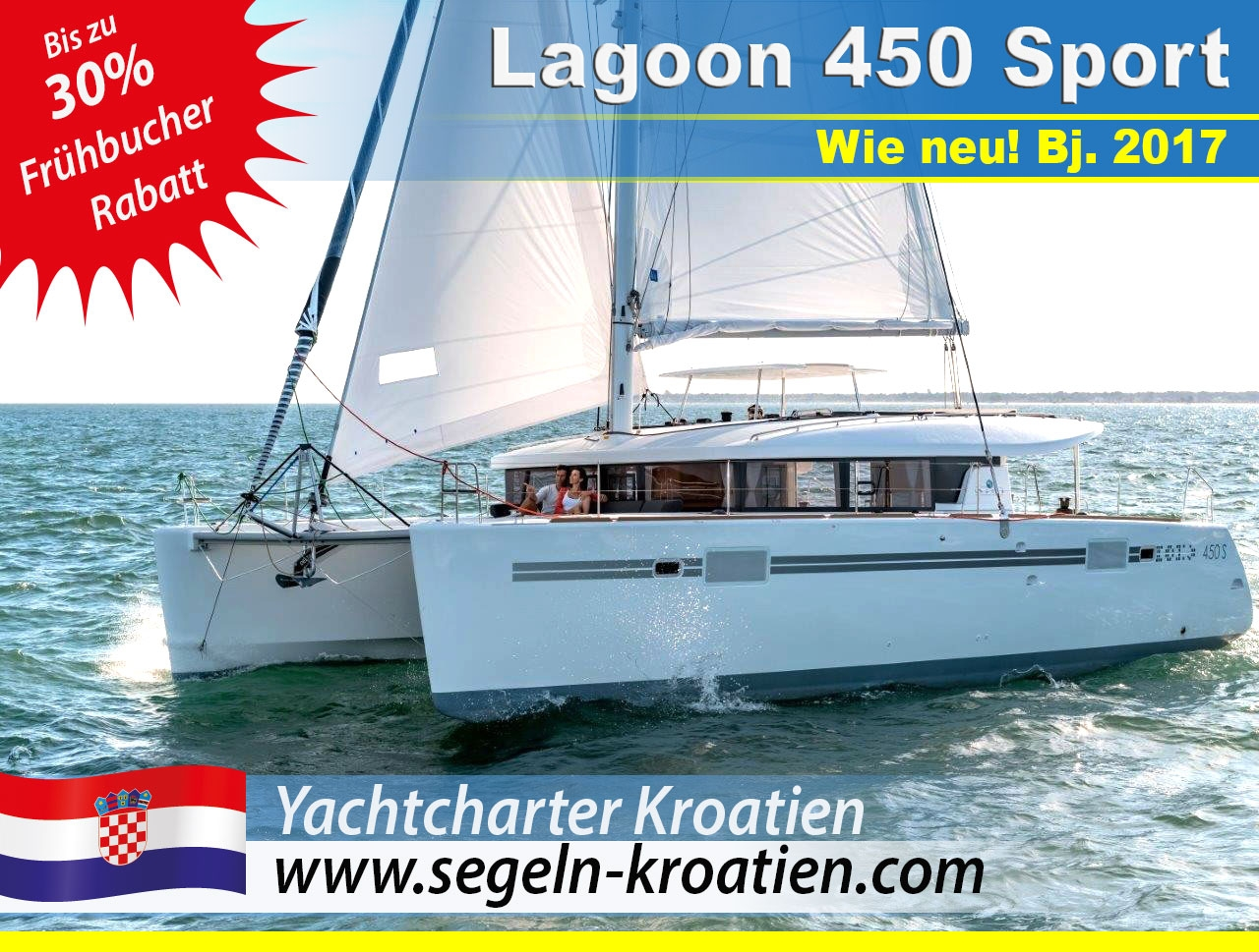 Frühbucher Lagoon 450 S Katamaran-Yacht