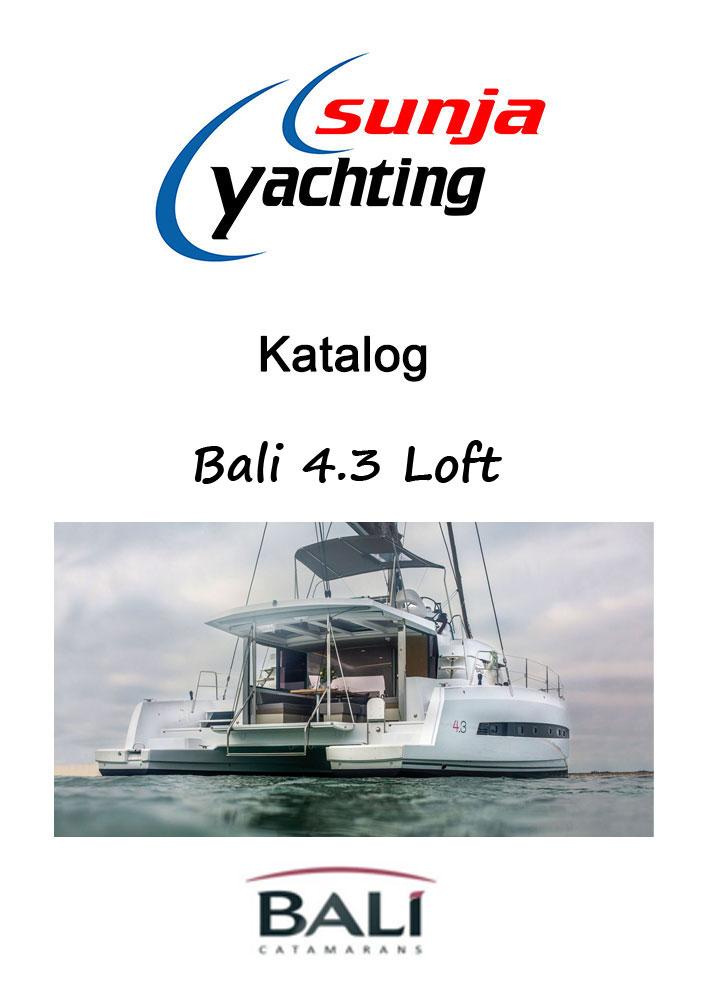 Bali 4.3 Loft Katalog / Broschüre