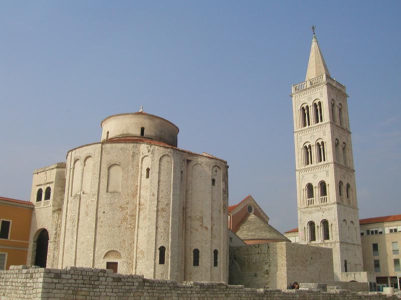 Zadar kulturhistorische Kirche
