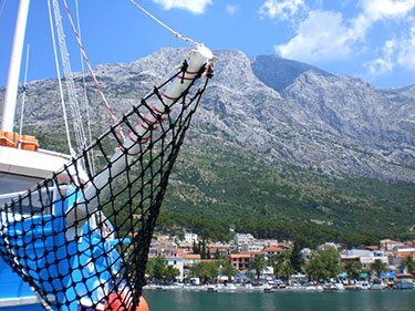 Baska Voda Yachthafen
