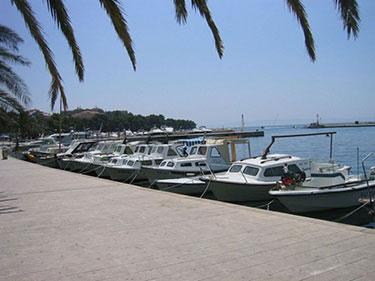 Hafen Baska Voda