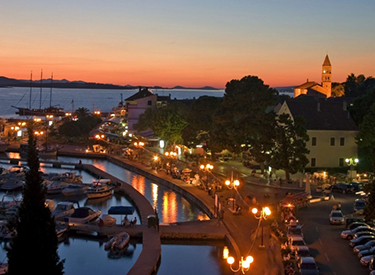 Hafenpromenade Biograd