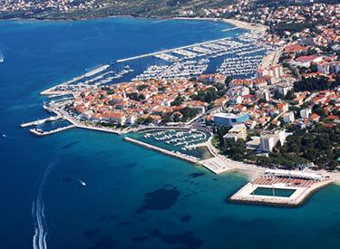 Küste Biograd Kroatien
