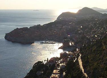 Ausblick auf Dubrovnik