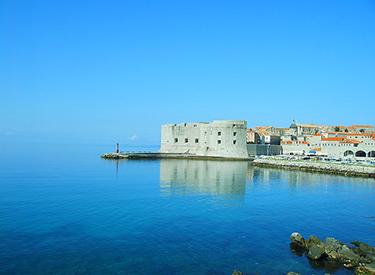 Yachthafen Einfahrt Dubrovnik