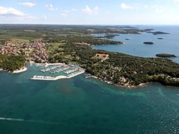 Küste Funtana Kroatien