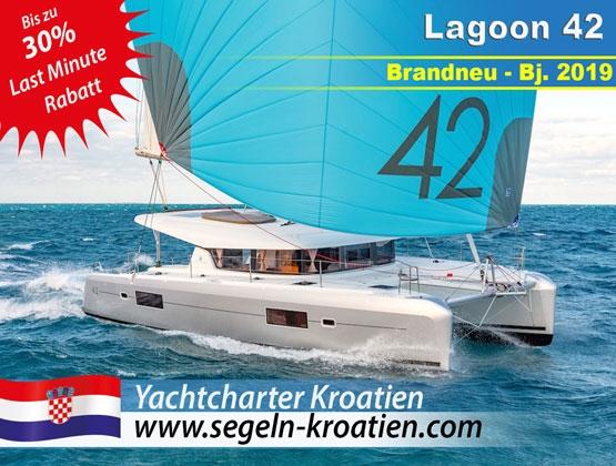 Lastminute Yachtcharter Kroatien