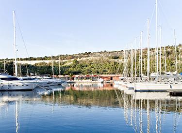 Hafen Primosten