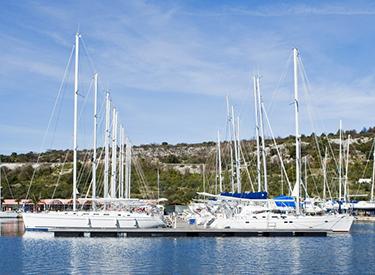 Yachthafen von Primosten
