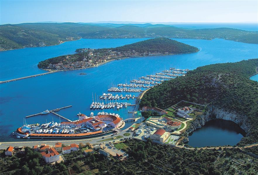 Rogoznica Kroatien