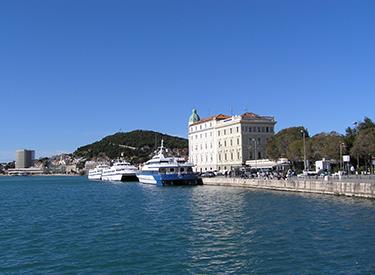 Küste von Split