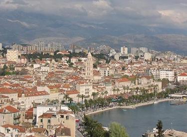 Aussicht Split Kroatien