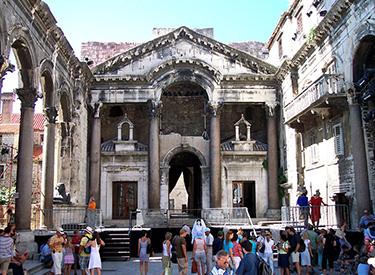 Kulturelle Orte in Split