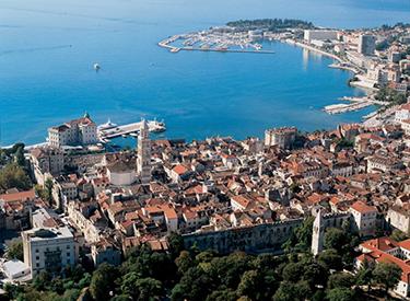 Urlaubsort Split Kroatien