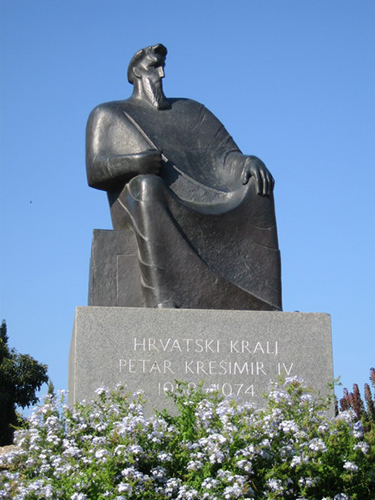 Petar Kresimir IV Statue Sibenik
