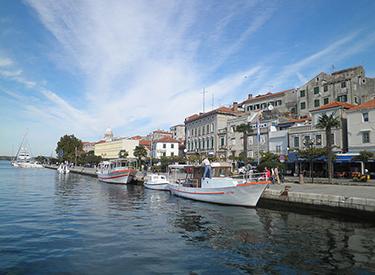 Neuer Hafen Sibenik
